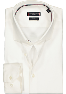 Tommy Hilfiger Core stretch Slim Fit overhemd, wit Oxford