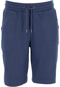 Tommy Hilfiger Authentic short, heren joggingbroek kort, normale dikte, donkerblauw