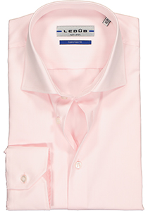 Ledûb Tailored Fit overhemd, roze