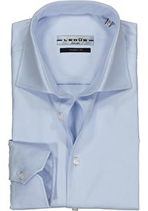 Ledub Modern Fit overhemd, lichtblauw twill