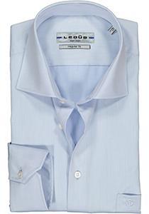 Ledub Regular Fit overhemd, lichtblauw twill