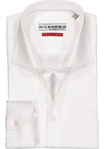 Ledub Slim Fit overhemd, wit twill