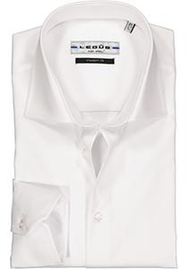 Ledub Modern Fit overhemd, wit twill