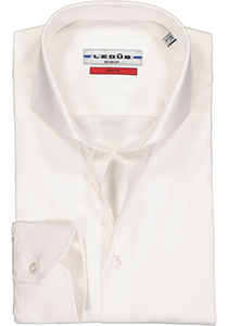 Ledub Slim Fit overhemd, wit