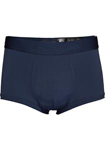 Calvin Klein CK BLACK Micro low rise trunk (1-pack), microfiber heren boxer kort, blauw