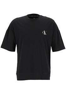 Calvin Klein CK ONE lounge T-shirt, heren lounge T-shirt O-hals, zwart