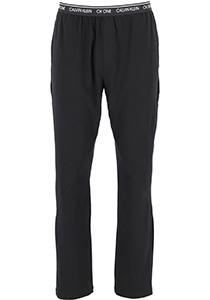 Calvin Klein CK ONE lounge sleep pants, heren lounge joggingbroek lang, dun, zwart