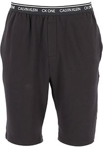 Calvin Klein CK ONE Lounge short, heren lounge joggingbroek kort, middeldik, zwart