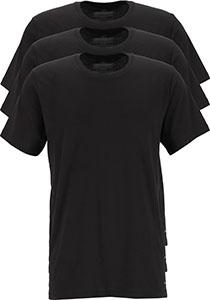 Calvin Klein Cotton Classics crew neck T-shirt (3-pack), heren T-shirts O-hals, zwart