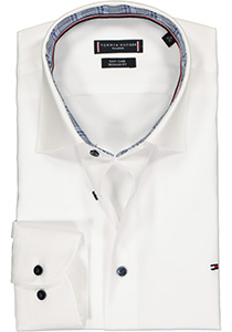 Tommy Hilfiger overhemd Regular Fit, wit twill (contrast)