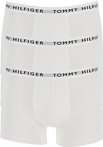 Tommy Hilfiger Recycled Essentials trunks (3-pack), heren boxer normale lengte, wit