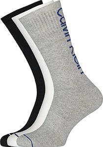 Calvin Klein herensokken Gavin (3-pack), sportsokken, grijs, wit en zwart