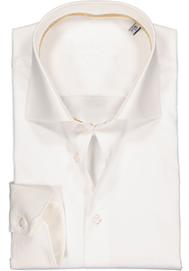 Ledub Slim Fit overhemd, beige twill