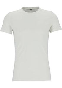 HOM Supreme Cotton tee-shirt (1-pack), heren T-shirt O-hals, wit