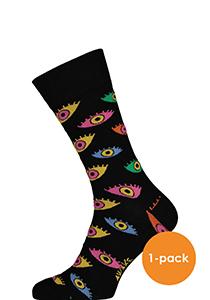 Spiri Socks The eyes, zwart