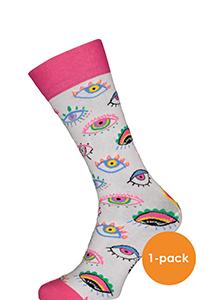 Spiri Socks The eyes, roze