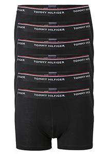 Actie 6-pack: Tommy Hilfiger boxershorts, zwart