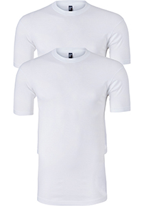 ALAN RED T-shirts Virginia (2-pack), O-hals, wit