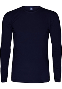 ALAN RED T-shirt Olbia (1-pack), O-hals lange mouw stretch, blauw
