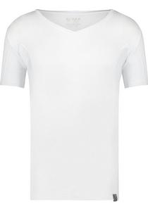 RJ Bodywear Sweatproof T-shirt diepe V-hals (oksels), wit