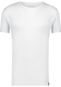 RJ Bodywear Sweatproof T-shirt O-hals (oksels), wit
