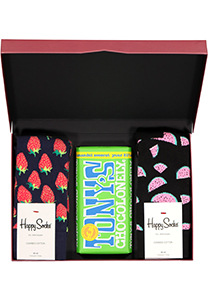 Happy Chocolade cadeauset; Fruitige amandelen