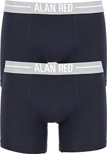 ALAN RED boxershorts (2-pack), navy blauw
