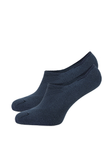 Falke Cool Kick invisible herensokken, blauw