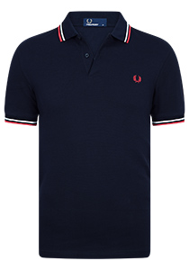 Fred Perry M3600 shirt, polo Navy / White / Red