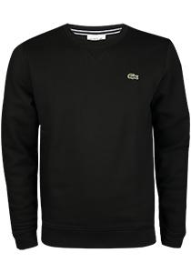 Lacoste heren sweatshirt, zwart
