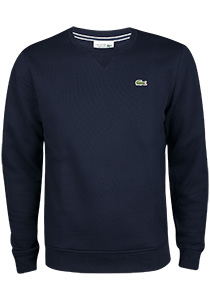 Lacoste heren sweatshirt, marine blauw
