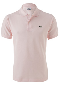 Lacoste Classic Fit polo, flamingo roze