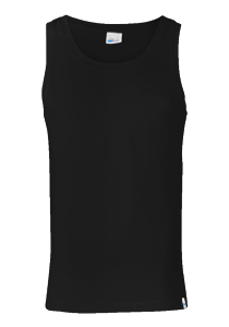 Schiesser Long Life Cotton singlet, zwart