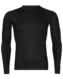 RJ Bodywear thermo T-shirt lange mouw, zwart