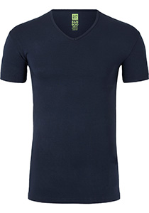 ALAN RED T-shirt Baltimora bamboo (1-pack), V-hals stretch, blauw