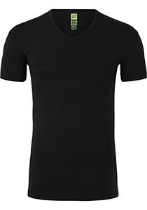 ALAN RED T-shirt Baltimora bamboo (1-pack), V-hals stretch, zwart