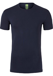 ALAN RED T-shirt Bilbao bamboo (1-pack), O-hals stretch, blauw