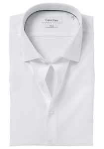 Calvin Klein Fitted overhemd, wit