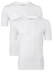 CASA MODA T-shirts (2-pack), O-neck, wit
