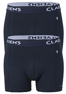 Claesen's Boxers (2-pack), blauw