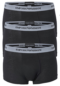 Armani Trunks (3-pack), zwart