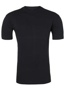 HOM Harro New T-shirt (1-pack), O-hals, zwart