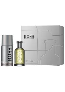 Heren cadeauset: Hugo Boss Bottled Eau de Toilette 50ml + deodorant spray 150ml