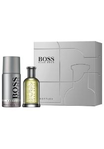 Heren cadeauset: Hugo Boss Bottled Eau de Toilette 50ml + deodorant spray 150ml