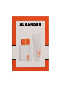 Heren cadeauset: Jil Sander Sun Men eau de toilette 75ml + shampoo 75ml