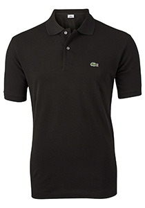 Lacoste Classic Fit polo, zwart