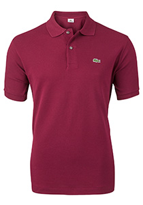Lacoste Classic Fit polo, bordeaux rood
