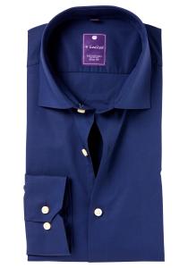 Redmond Slim Fit overhemd, marine blauw
