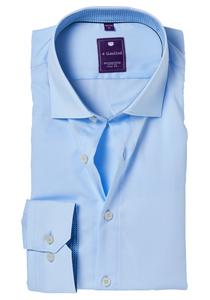 Redmond Slim Fit overhemd, lichtblauw (contrast)
