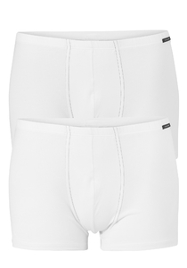 SCHIESSER Cotton Essentials shorts (2-pack), wit